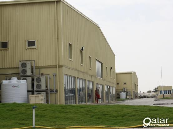 200, 400 SQM, store cum office, ideal for general cargo storage, including Utilities | Street 11