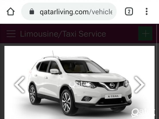 DRIVER WITH NISSAN X-TRAIL CAR AVAILABLE CONTACT:55540953