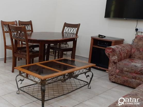 2 BEDROOM FULLY FURNISHED APARTMENT IN MANSOURA NEAR AL MEERA