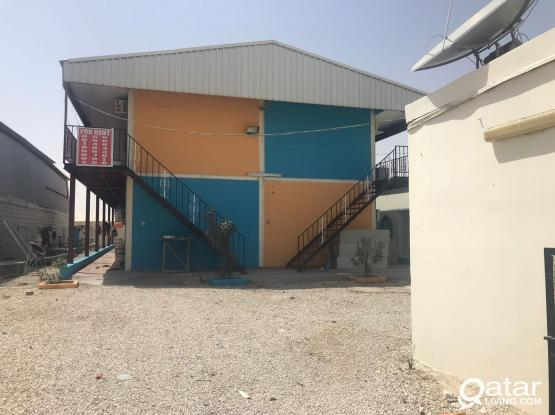 Labour camp fully furnished ALKHOR 22rooms,18rooms,available