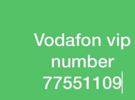 Vodafone vip fancy number