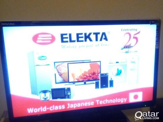 "32"" Elekta LED Tv. New with the box"