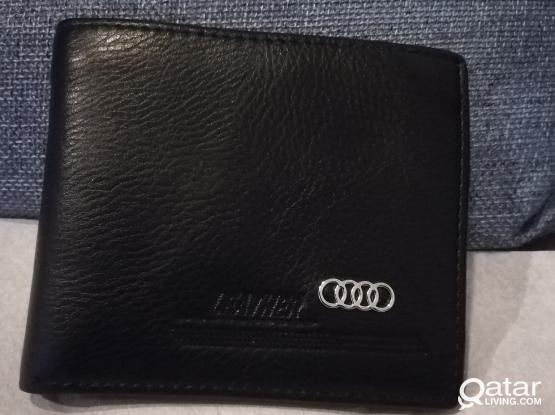 Wallet, brand new, leather, Man's
