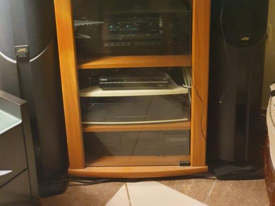 Solid Wood Glass Cabinet Adjustable shelf only