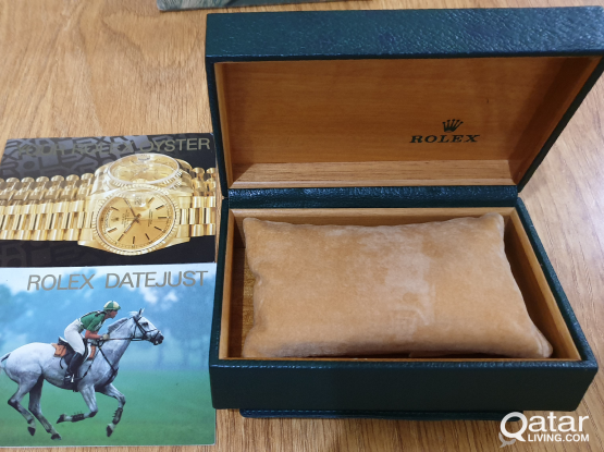 ROLEX oyster watch box Qr.1800