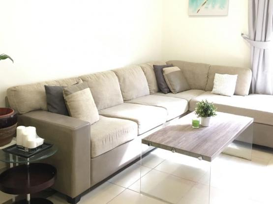 L shape sofa from home centre