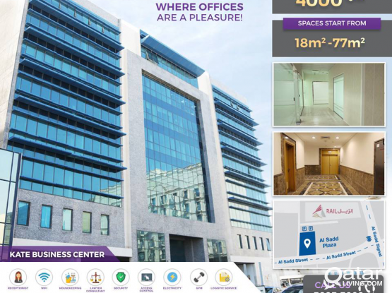 Luxury Fully Serviced and Furnished Offices