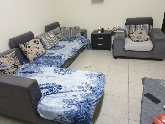 sofa set with cushions for sale