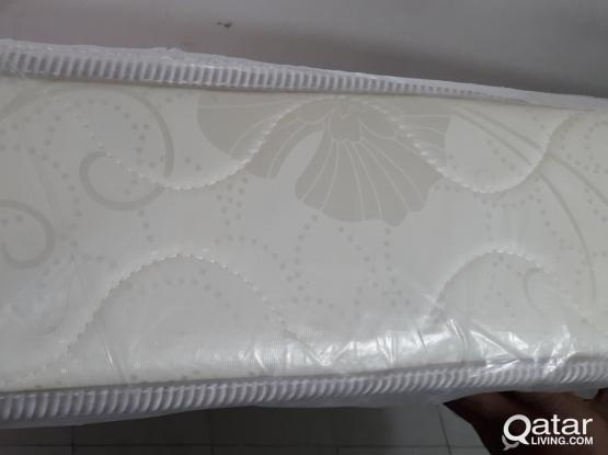 Mattress with cover 190×150×15cm