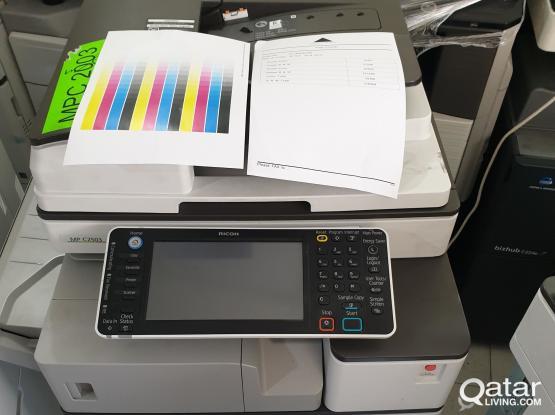 Ricoh  color copier 6 months warranty