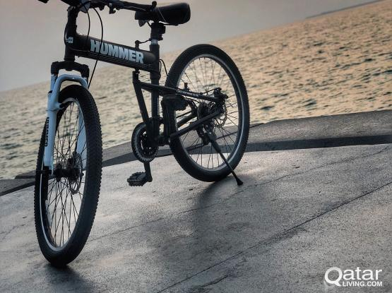"""Used 26"""" Hummer Cycle-with Spare seat and Helmet"""