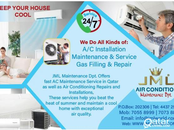 We Do All kinds of A/C Maintenance
