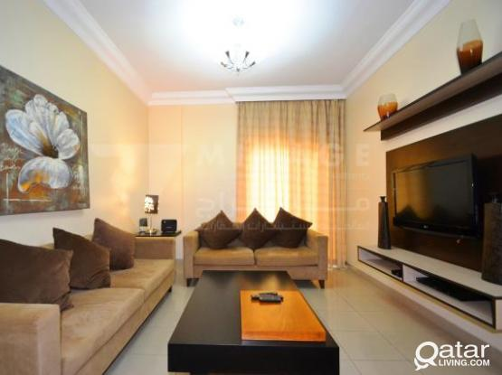 Fully Equipped 3-Bed Apartments in Najma with Balcony
