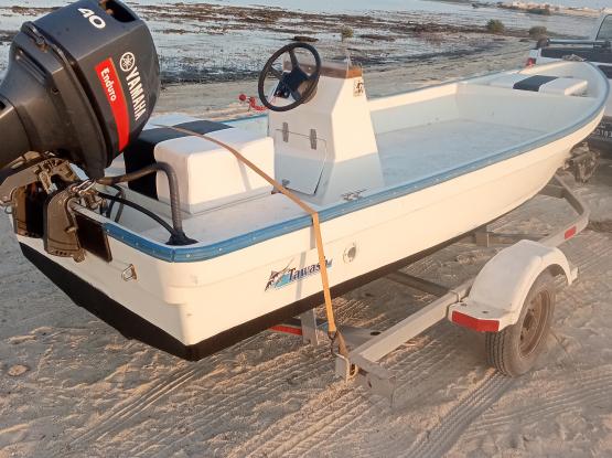 Tawash boat 16ft