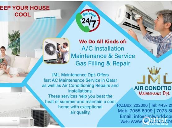 Al kinds of A/C Installation & Maintenance
