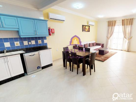 No commission - Amazing F/F 2 BHK - American Style Kitchen in Al Thumama