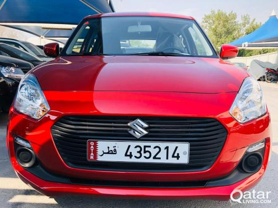 2020 MODEL SUZUKI SWIFT AVAILABLE FOR RENT, CALL 4444 12 43 , 555 70 470 & 666 16 343