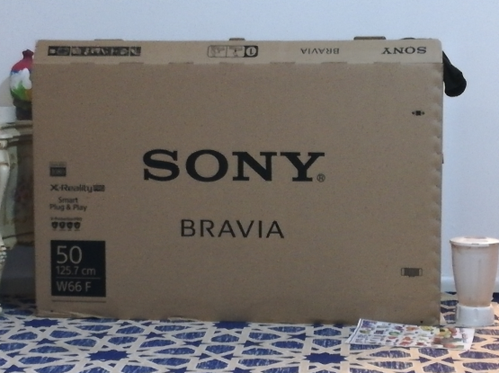 Sony TV 50 smart NEW