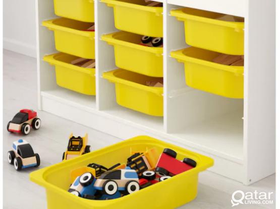 Storage unit Combination w/Boxes