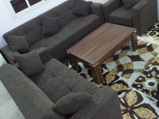For sale sofa cum bed made in Turkey  3+2+1 six s