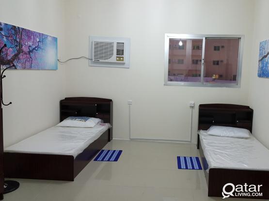 Male bed space near Metro old al ghanim