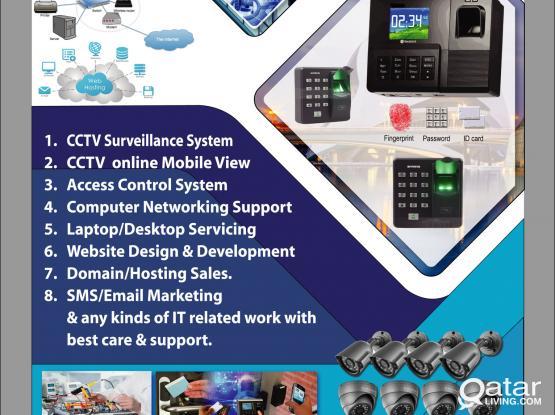 CCTV Security Camera_Access Control System