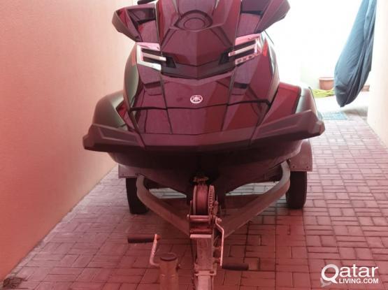 Yamaha SHO Jetski with Trolley 1800cc