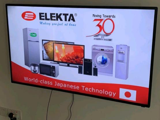 electa 50 inches full HD tv