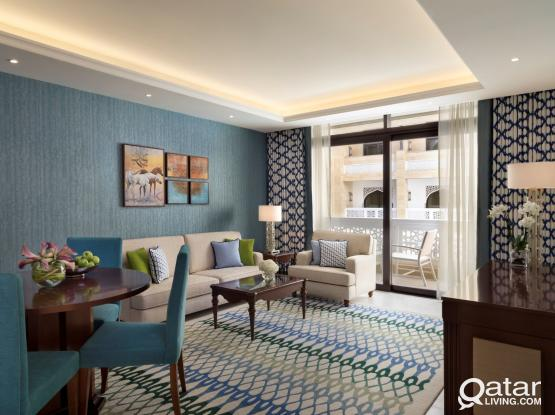 Spacious & Brand-New 1 Bedroom Hotel Apartment