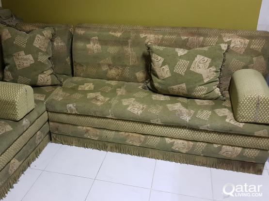 3 Pieces Sofa Set Majles Type