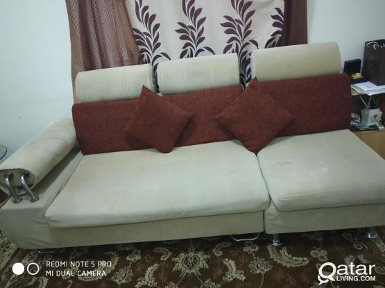 6 seater L shape sofa