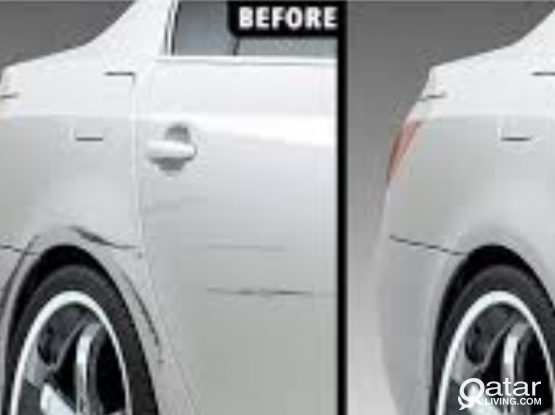 Denting and full Painting your sedan Car 1250qar