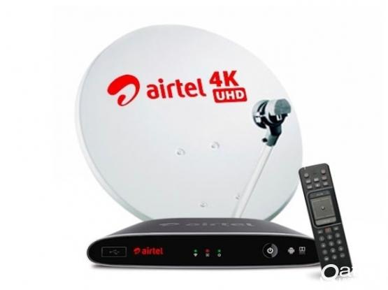 Airtel Big Dish and HD Receiver