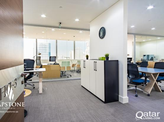 UP TO 3 MONTHS FREE! Brand New Offices in Lusail