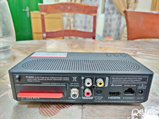 airtel receiver for sale!