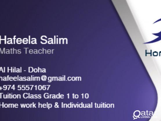 Home Tuition @ Al Hilal