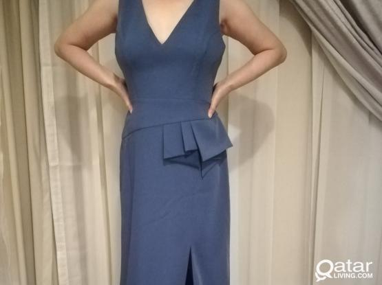 Ladies dress, Blue, Size 10, Brand New