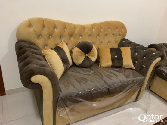 Valvet 3 Pieces sofa set (3+2+2) with coffee table