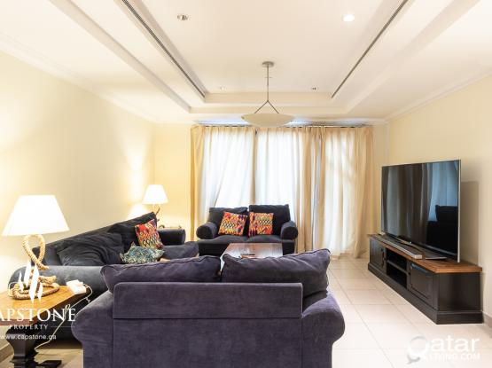 SPECIAL OFFER! Big 1BR Furnished Apartment + Sea View