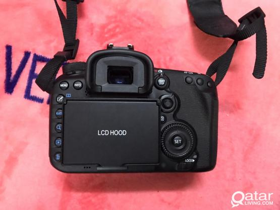 Canon 7d mark ii With 18-50 mm lens