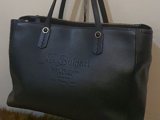 Authentic BVLGARI Tote