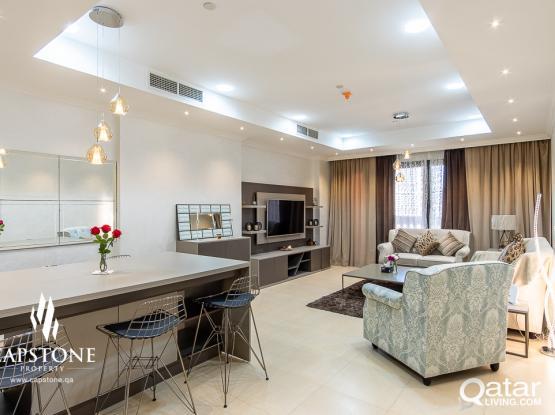 FF 1BR Elegant Apartments + Free Internet
