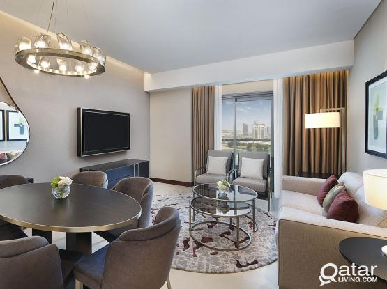 Hilton The Pearl, 2 Bedroom Deluxe Apartment