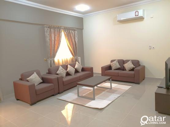 """**NO COMMISSION** ALL BRAND NEW furniture, with """"1 Month FREE """"spacious 2BHK@ mansoura Near Al meera"""