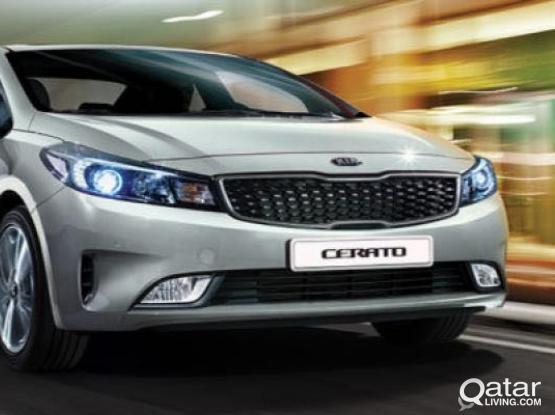 Kia Cerato 2018 Model for Rent