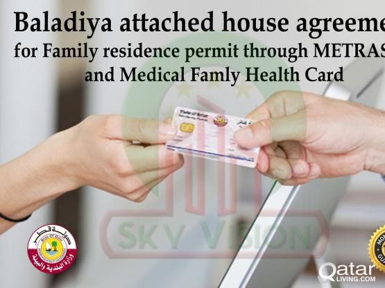 Online attested Tenancy Contract for applying Family RP from Metrash2