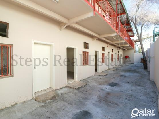 1000 QR Per Month! 32  Labour Camp For Rent