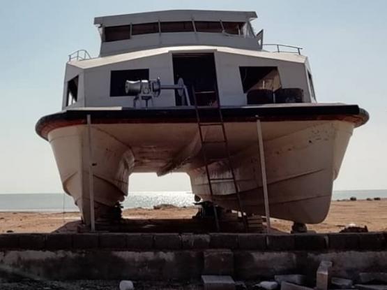 New catamaran for sale