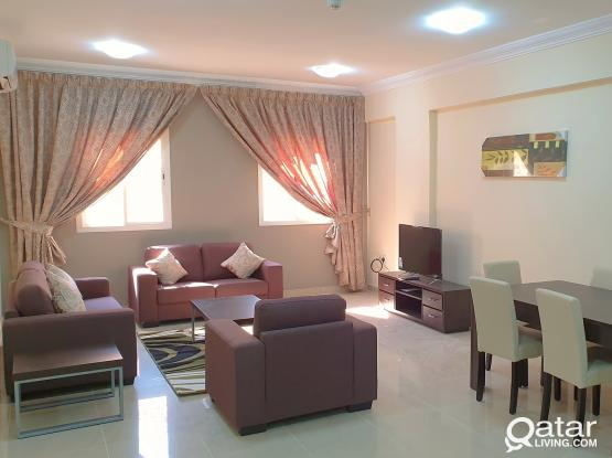 **No commission** ALL BRAND NEW FURNITURE, with 1Month FREE  spacious 3BHK @ mansoura Near Al meera