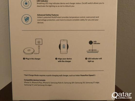 B.new Anker 10W Wireless Charger/Qi-Certified Wireless Charging Pad just 70 QR
